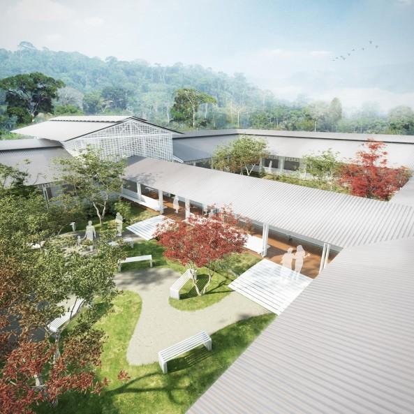 Typová nemocnice v Gabonu