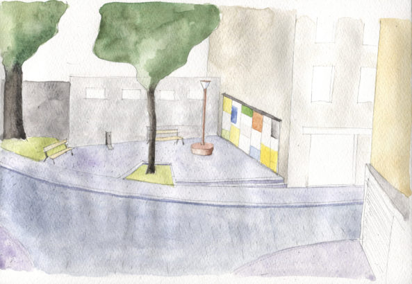 Plácek Karlov – úprava městského prostoru