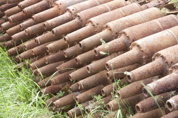 V areálu se likviduje stará nebo nevybuchlá munice. Foto: Rusina Frei