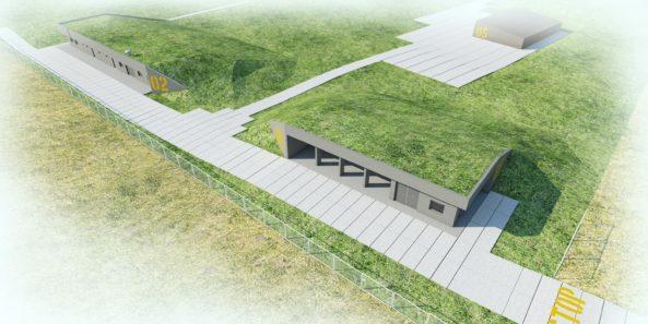Zelené střechy chrání a zároveň zapojují stavby do krajiny.