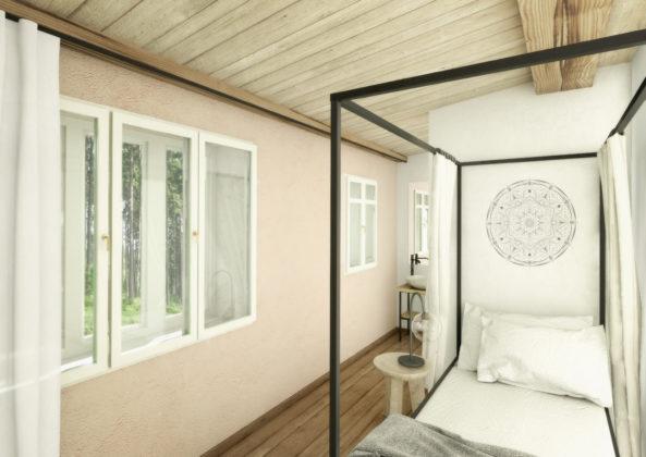Pokoje se liší velikostí, orientací i zařízením.